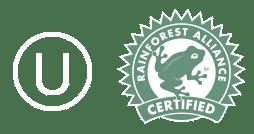 logos kosher rainforest
