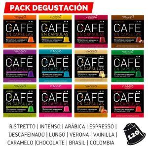 Pack degustación Nespresso