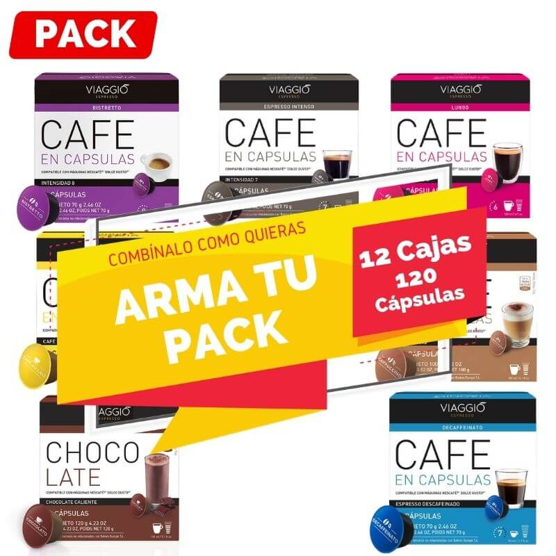 Arma tu Pack Dolce Gusto 12 Cajas